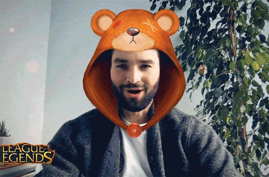 Twitch streamers are getting Snap's AR selfie filters
