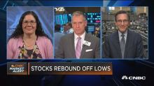 Closing Bell Exchange: Stocks rebound off lows
