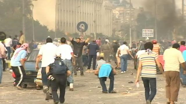 Egyptian Military, Protesters Continue to Clash
