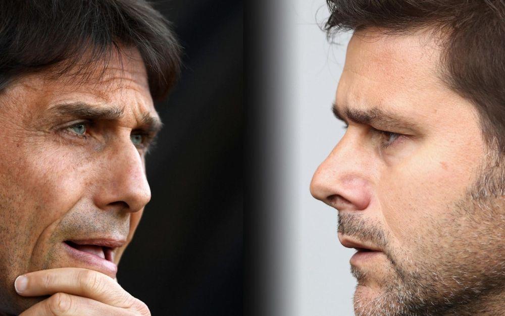 Antonio Conte and Mauricio Pochettino will go head-to-head - Getty Images Europe
