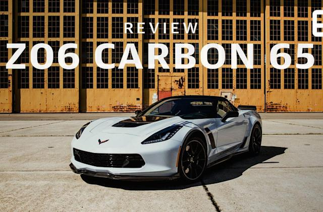 The 65th anniversary Corvette is a performance beast for data nerds