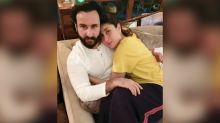 This Pic of Kareena Kapoor and Saif Ali Khan Snuggling Up to Each Other in Their Pyjamas on Their Anniversary Is Giving Us All the Cozy Feels - See Pic