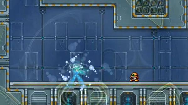 This is what happens when Mega Man charges up forever