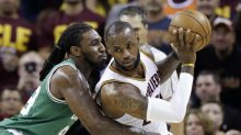 LeBron James calls out reporter after poor performance in loss to Celtics
