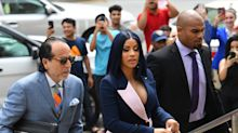 Cardi B pleads not guilty on strip-club brawling charges in New York