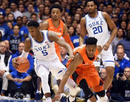 Top 25 Roundup Syracuse Upsets No 1 Duke In Ot