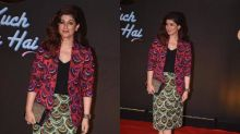 Want To Quirk Up Your Formal Wear? Twinkle Khanna Has A Solution For You