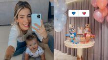 Gabi Brandt faz chá revelação e anuncia que será mãe de outro menino