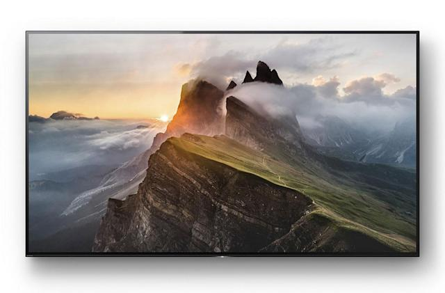 Sony's first 4K OLED TV starts at $5,000