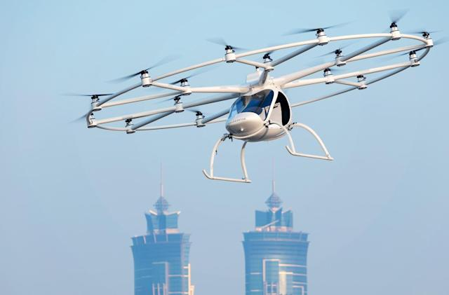 Volocopter hopes to have air taxis in the sky in five years
