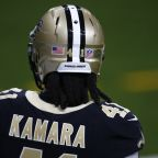 Through 3 weeks, Alvin Kamara has the 2nd-most fantasy football points in NFL history