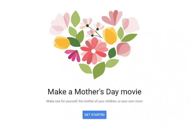 Google Photo's Mother's Day video tool is no substitute for a card