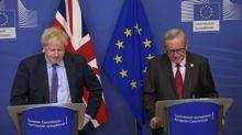 Londres y la UE cierran un acuerdo de Brexit sin garantías de éxito