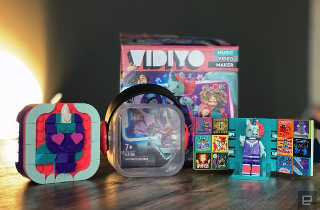 Lego's Vidiyo music video creator is silly fun, and I love it