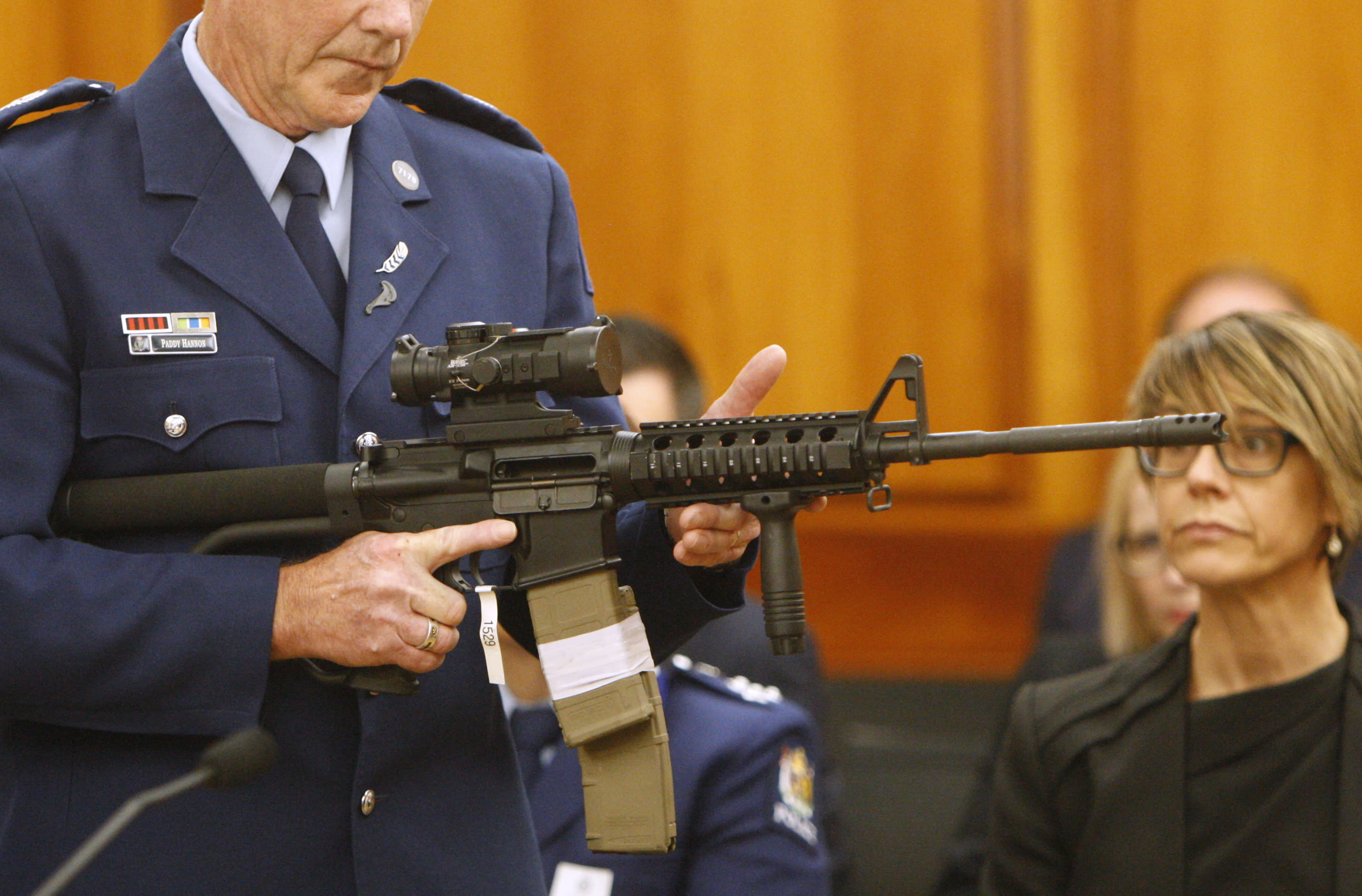 New Zealand holds first gun buyback event in wake of Christchurch shooting