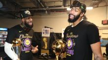 Anthony Davis: LeBron James tells me Lakers are my team