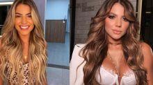 "Hariany muda visual e posta foto irreconhecível: ""Parece a Rafa Kalimann"""