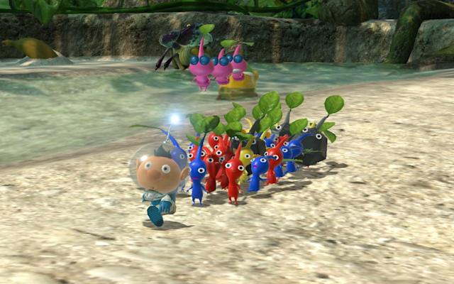 'Pikmin 3 Deluxe' brings a beloved Wii U gem to Switch on October 30th