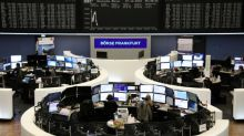 European shares slip back to 2016 levels as Wall St support evaporates