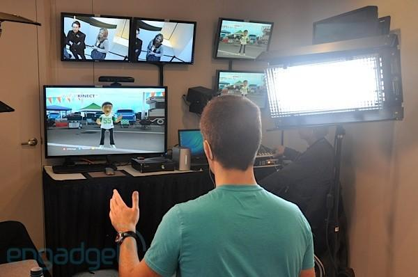 Avatar Kinect in action: prepare to be mildly diverted