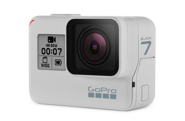 GoPro turns the Hero 7 Black white