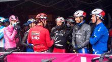 Ciclistas aseguran que su rebelión en el Giro fue para proteger su seguridad
