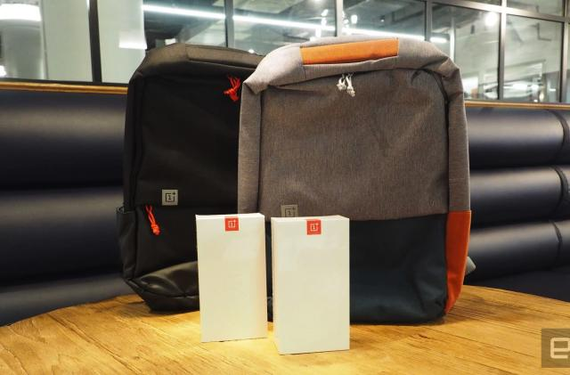 Engadget giveaway: Win a OnePlus 5 smartphone and backpack!