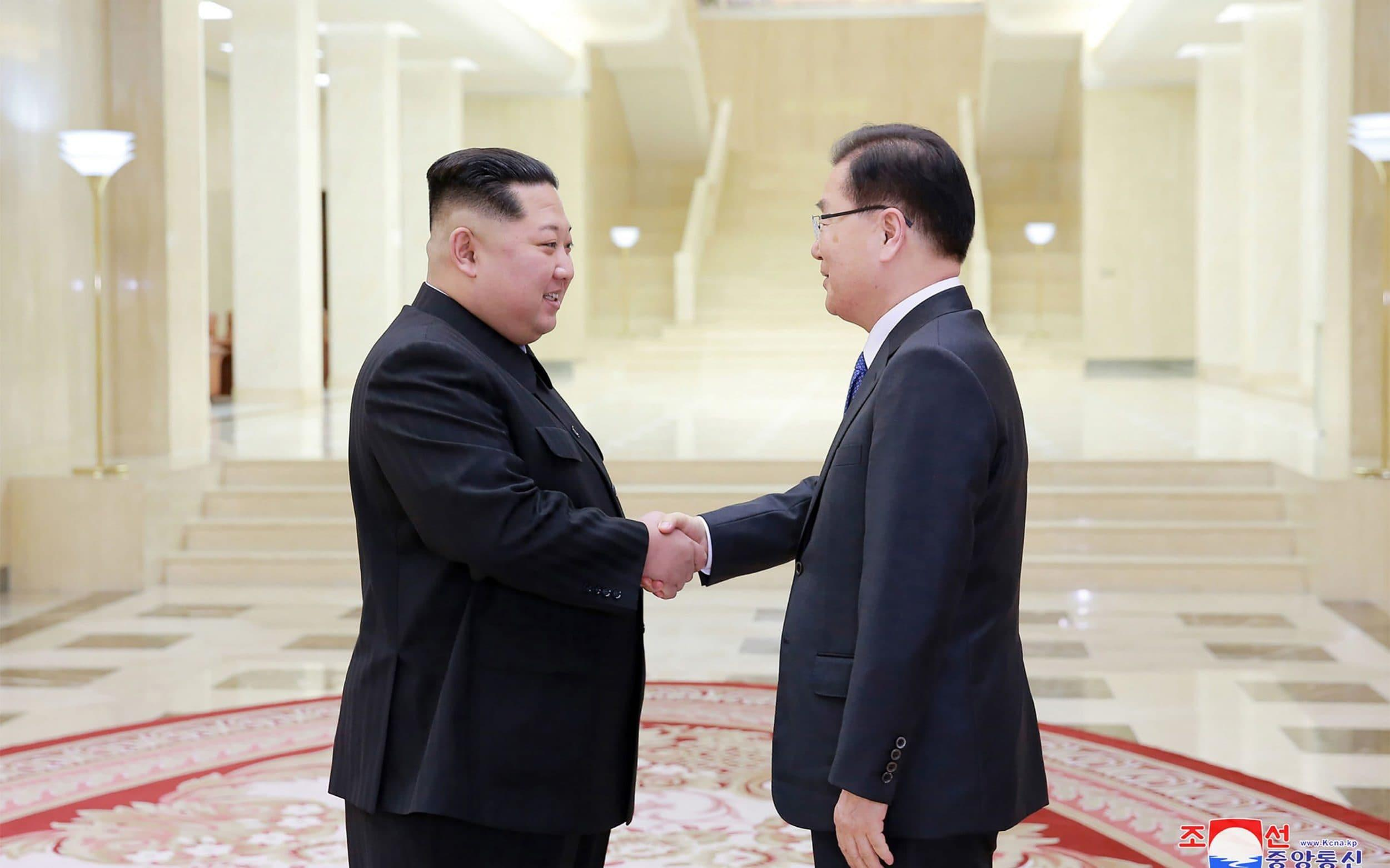 North Korea 'willing to give up nuclear weapons' as summit agreed between Kim Jong-un and South Korean president