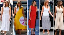 Melania Trump's G7 summit style: Every luxury outfit worn by the First Lady