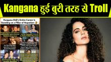 Kangana Ranaut was Brutally Trolled On Social Media By Bollywood Celebs
