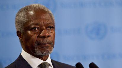 Kofi Annan, former UN secretary general, dies aged 80: Reports