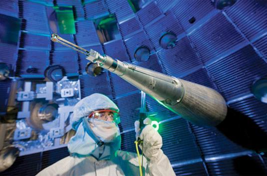 World's first two-megajoule ultraviolet laser fired in California: no, you can't buy one