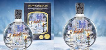 This snow globe gin would make a magical present