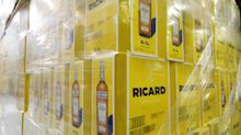 Pernod Ricard  Reports a Slowdown in Asian Demand