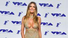 Heidi Klum luce como toda una diosa sensual a sus 44 años