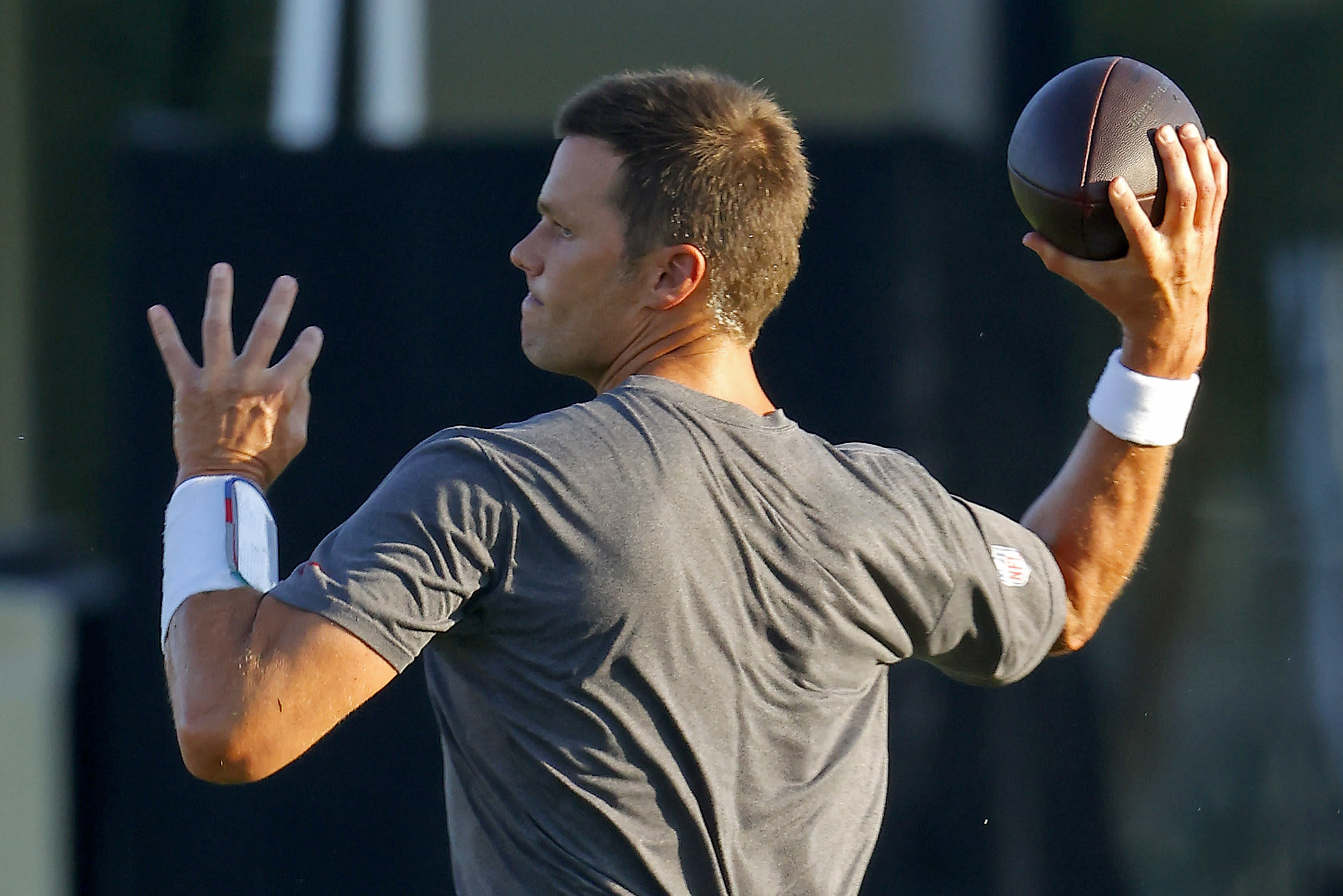 Here's why Tom Brady was 'cussed out' at Buccaneers practice