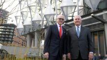 US-Außenminister Tillerson besichtigt neue US-Botschaft in London