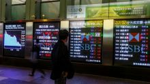 Asian Stocks Mostly Lower; Chinese Retail Sales Data Registers Lowest Reading in Over a Decade