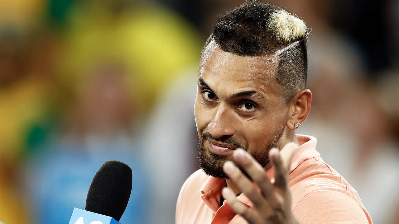'Don't forget': Nick Kyrgios' brutal taunt to younger rivals
