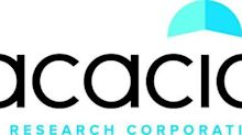 Acacia Research to Release Second Quarter Financial Results