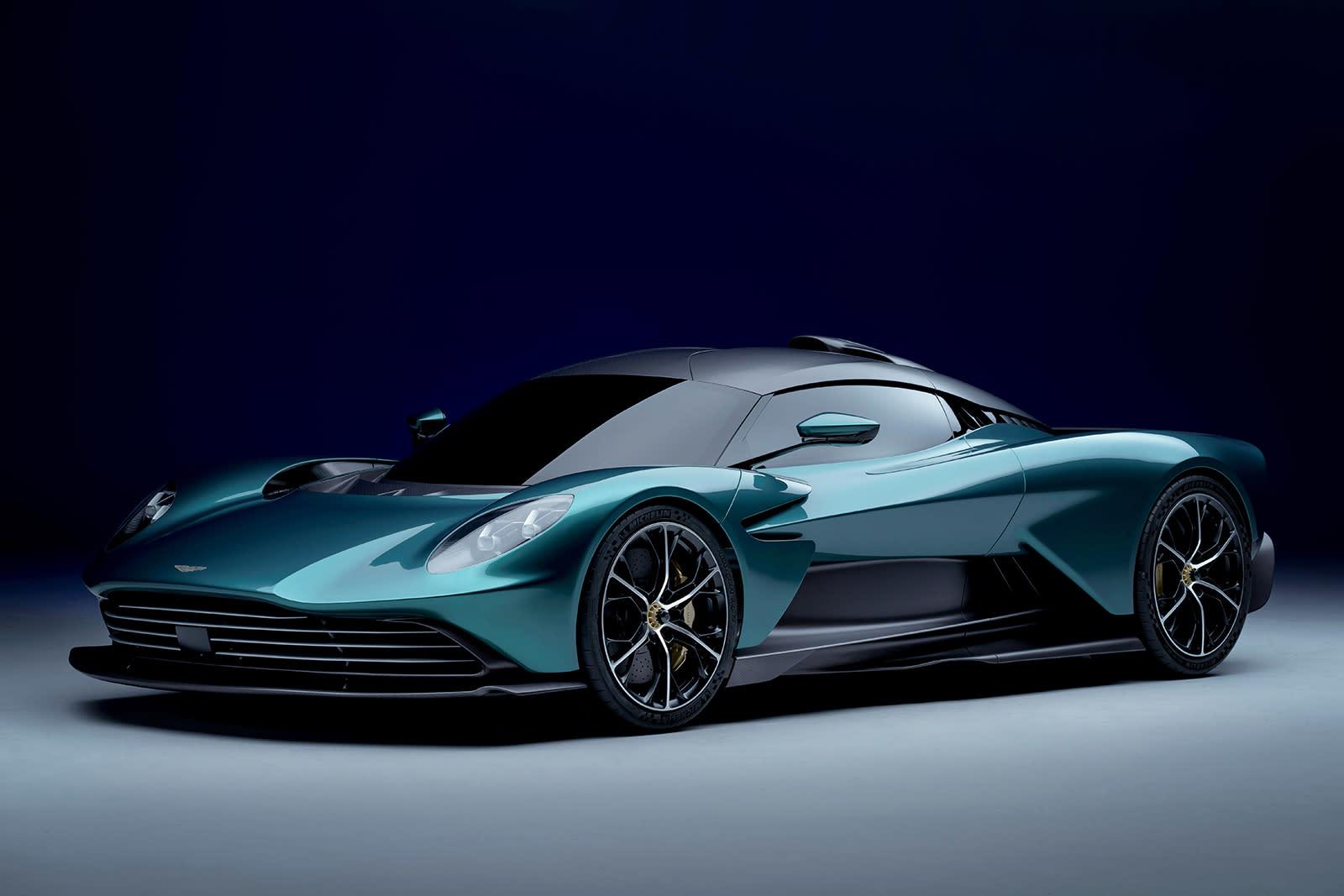 Aston Martin Valhalla plug-in hybrid supercar