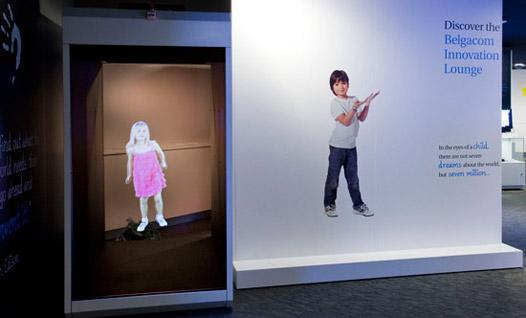 Holocube scales up with life-sized, 70-inch, HC70 holographic projector (video)