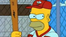Homer Simpson is getting 'inducted' into the Baseball Hall of Fame
