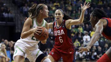 Ionescu, Oregon upset Team USA in exhibition