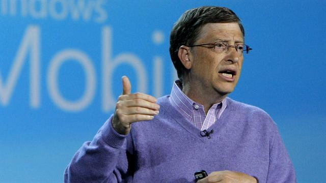 Bill Gates named richest man in the world