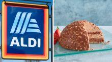 ALDI selling giant frozen Ferrero Rocher Christmas dessert