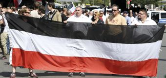 Far-right extremists blocked from Berlin rally