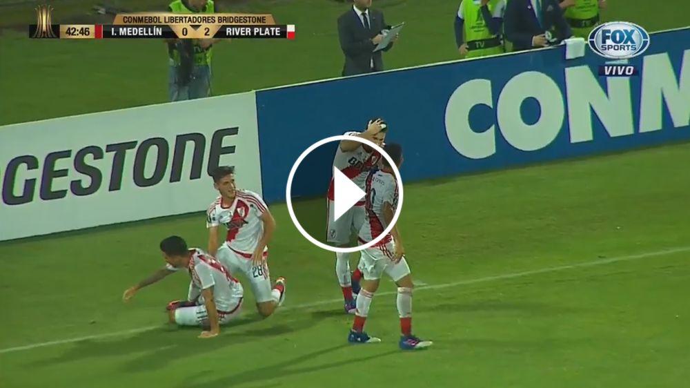VIDEO: Repudiable agresión desde la tribuna hacia Alario