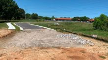 New State Farmers Market driveway was to open last fall. Why it's still not ready.