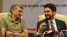 SC sacks BCCI president Anurag Thakur, secretary Ajay Shirke